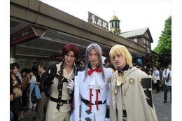 「終わりのセラフ」のイケメン吸血鬼たちが現実化 原宿、表参道、新宿を襲撃