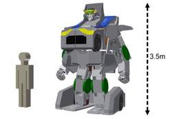 巨大変形ロボット「J-deite RIDE」 国内企業が開発着手を発表