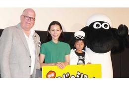 映画「ひつじのショーン」リチャード監督来日 アードマン最新作を木村佳乃も応援 画像