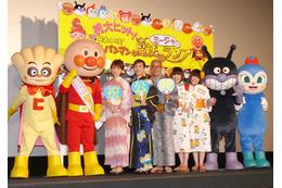 劇場版「それいけ!アンパンマン」初日舞台挨拶に戸田恵子、中尾隆聖、大島優子ら 画像