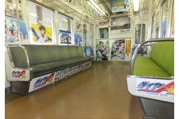 「ダイヤのA」「ヘタリア」などが地下鉄を飾る 「京まふ号」7月23日から運行 画像