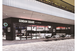 関西初のガンダム専門店「GUNDAM SQUARE」 万博公園・EXPOCITYに誕生