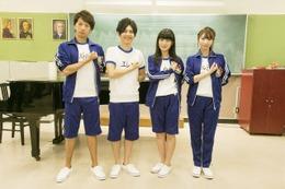「進撃!巨人中学校」キャストのスペシャルコーナーも放送 梶裕貴ら人気声優陣が登場 画像