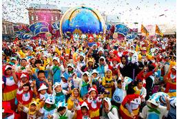 ユニバーサルスタジオジャパンで約1,700人の「妖怪ウォッチ」仮装ゲストが大熱狂 画像