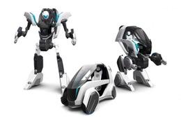 河森正治とトヨタ車体がコラボ コンセプトカーを元に変形ロボットをデザイン
