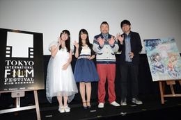 「ガラスの花と壊す世界」東京国際映画祭でプレミア上映 スタッフが「感無量」 画像
