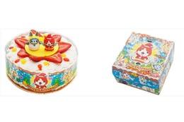 「妖怪ウォッチ」「プリキュア」が可愛いクリスマスケーキに 限定5000セット