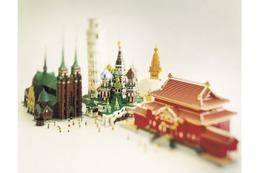 レゴブロックで世界遺産40作品を展示、二子玉川ライズで12月26日より開催
