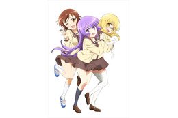 「三者三葉」2016年春テレビアニメ化決定 「まんがタイムきらら」の4コママンガ 画像
