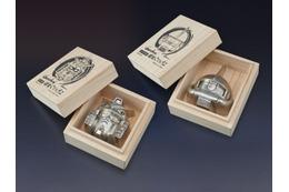シャア専用ザクが「錫製ぐいのみ」に ガンダムと富山・高岡鋳物がコラボレーション 画像