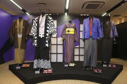 伊勢丹新宿店×ルパン三世のコラボ 次元、五ェ門、銭形警部ルックも発売 画像