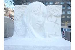 さっぽろ雪まつりに「ちはやふる」  高さ3mでティザービジュアル再現 画像