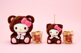 バレンタインはハローキティとマイメロディ「GODIVA」とコラボギフト展開 画像