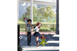 「デジモンアドベンチャー tri.」第2章のパッケージイラスト ミミと丈が登場