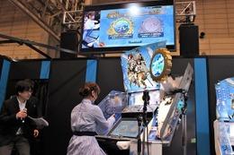 井口裕香がステージで実践! 「艦これ Arcade」デモンストレーションプレイ 画像