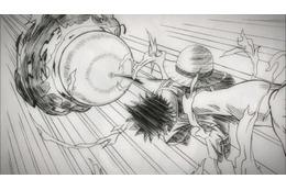 「ONE PIECE FILM GOLD」 尾田栄一郎監修の線画アニメ公開、制作の過程もわかる! 画像