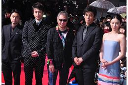 「テラフォーマーズ」レッドカーペットに伊藤英明、山下智久、山田孝之ら豪華出演者 画像