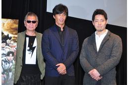 映画「テラフォーマーズ」 三池監督が伊藤英明と貴家悠を招いてトーク全開 画像