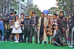松坂慶子が黄金騎士とグリーンカーペットに 東京国際映画祭に「牙狼~蒼哭ノ魔竜~」 画像