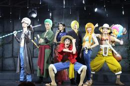 「ONE PIECE」東京タワーの新ライブショーレポート ローとルフィが目の前で共闘!