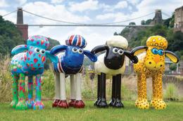 庵野秀明、安野モヨコも手掛けた 世界に1匹の巨大「ひつじのショーン」渋谷に出現