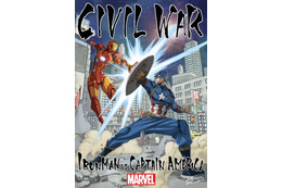 真島ヒロが描いたアイアンマンとキャプ 「シビル・ウォー/キャプテン・アメリカ」友情決裂ビジュアル公開