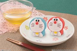 食べるのがもったいない!和菓子でドラえもんを表現「食べマス ドラえもん」発売 画像