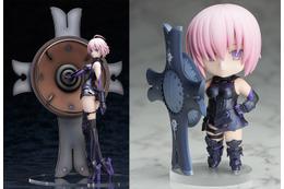 """「Fate/Grand Order」よりマシュ・キリエライトが初フィギュア化 巨大な""""盾""""も完全再現"""