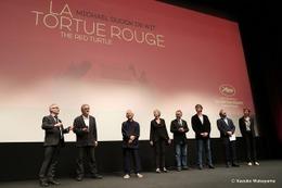 「レッドタートル ある島の物語」、カンヌ国際映画祭で喝采!マイケル監督、鈴木敏夫プロデューサーも感激