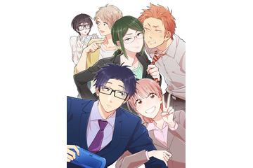 「ヲタクに恋は難しい」テレビアニメ化 2018年4月ノイタミナにて放送