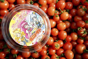 「ハピネスチャージプリキュア!」でミニトマトの販売好調 熊本発で子どもたちにアピール
