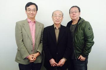 左から氷川竜介氏、辻 真先氏、會川昇氏
