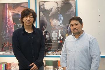 右)瀬下寛之総監督、左)守屋秀樹プロデューサー