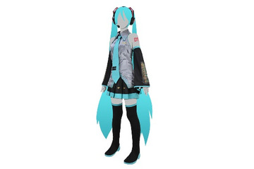 初音ミク(c)Crypton Future Media, Inc.