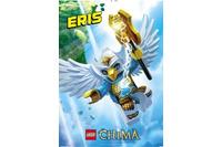 エリス:勇敢で頭の良いイーグル族。エリスはラバルと仲の良い友達。かしこく勇気があってラバルが困った時はいつも助けてくれるやさしい戦士。