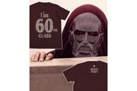 「超大型巨人Tシャツ」