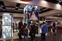 会場にほど近いサンフランシスコに拠点を持つVIZメディア。入口に近く人気を集めていた