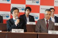 左)実行委員長の日本動画協会理事長・布川郁司氏