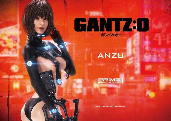 """「GANTZ:O」もう一人のヒロイン""""山咲杏""""が立体化!あどけない表情にしなやかボディがお見事!!"""
