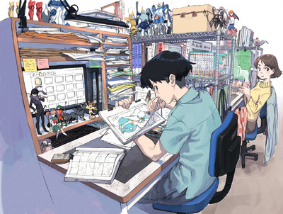 低賃金の新人アニメーターを守りたい!「現代のトキワ荘」運営費の ...