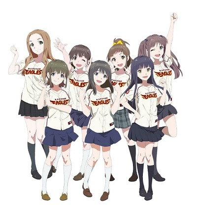 「Wake Up, Girls!ナイター」(c)GreenLeaves/WakeUp, Girls!製作委員会
