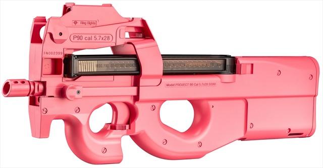「p90 エアガン ピンク」の画像検索結果