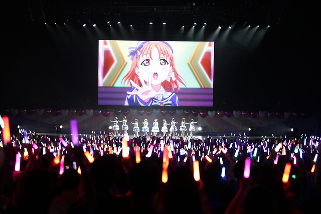 「LOVELIVE! SUNSHINE!! Aqours World LoveLive! in LA ~Beyond the Pacific~」(C)2017 プロジェクトラブライブ!サンシャイン!!