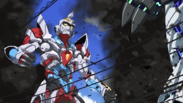 TVアニメ『SSSS.GRIDMAN』PV第2弾カット(C)円谷