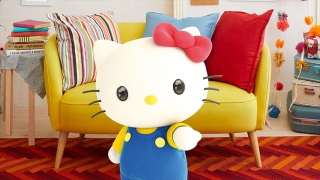 キティちゃんがyoutuberデビュー Youtubeでハローっていうのに