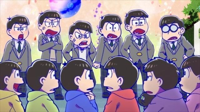 えいがのおそ松さん新規カットお披露目ぴあ映画初日満足度調査も第1