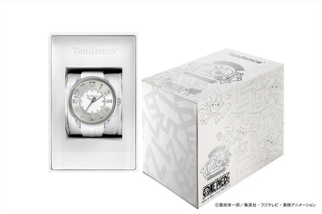 「ONE PIECEコラボレーションFLASH」TY532008(FLASH WHITE)/価格:41,000円+(税)(C)尾田栄一郎/集英社・フジテレビ・東映アニメーション