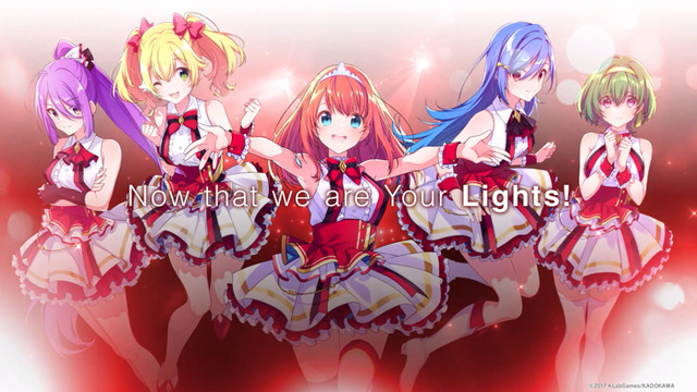「LiGHTs」「Your Lights(ユアライツ)」MV(C)2017 KLabGames/KADOKAWA