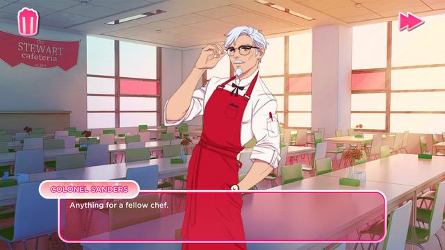 """恋愛相手は…カーネルおじさん!?""""KFC公式""""恋愛シム『I Love You, Colonel Sanders!』発表【UPDATE】"""