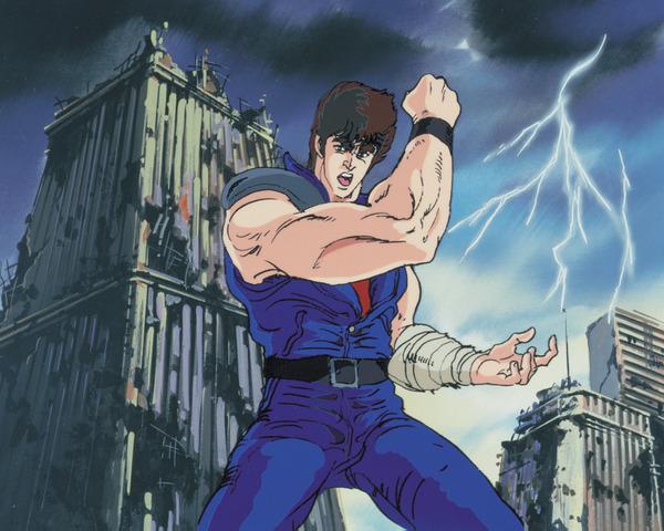 「北斗の拳一挙見Blu‐ray」キービジュアル(C)武論尊・原哲夫/NP・東映アニメーション 1987